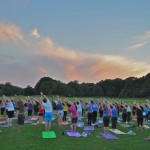 yoga class in prospect park