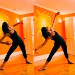 Triangle Pose - Jennifer Brilliant Studio