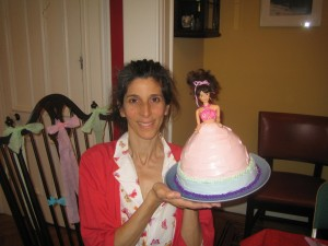 Barbie Cake May 2007