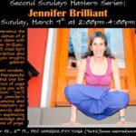 Jennifer Brilliant workshop flyer